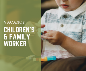 Family and Children's worker poster